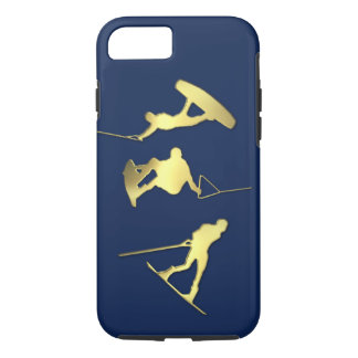 Gold Wakeboarders iPhone/iPad Case