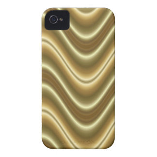 gold wave Case-Mate iPhone 4 case