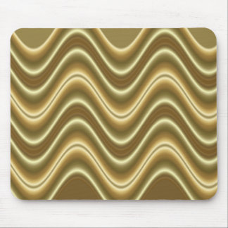 gold wave mouse pad