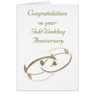 Gold Wedding Rings Art Gifts Cards