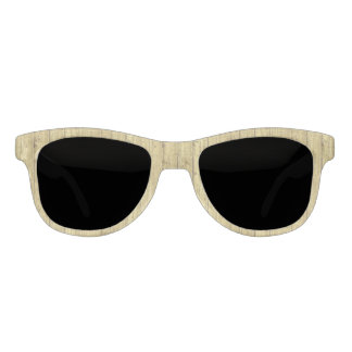 Gold Wood Sunglasses