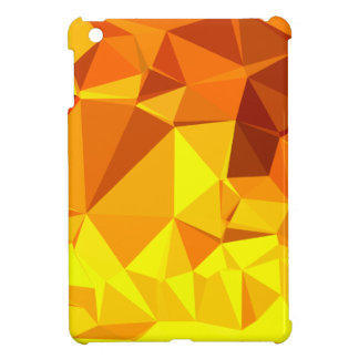 Gold Yellow Banana Abstract Low Polygon Background iPad Mini Cases