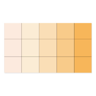 Gold Yellow Square Ombre Customizable 3 Pack Of Standard Business Cards