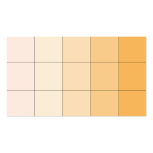 Gold Yellow Square Ombre Customizable 3 Business Card Template
