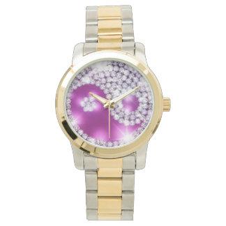 Gold  Ying Yang Watch