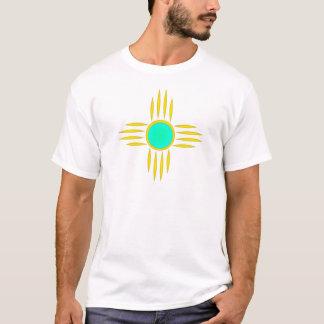 Gold Zia Sun Symbol T-Shirt