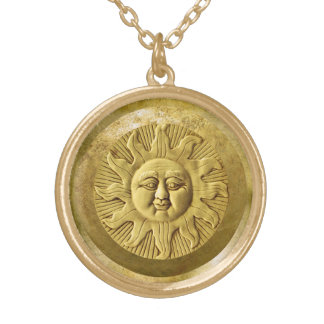 Gold Zodiak Pendant