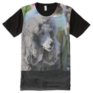 Goldberg - Chanel - Standard Poodle All-Over Print T-Shirt