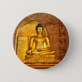 goldbudha_front.JPG 6 Cm Round Badge