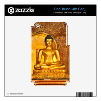goldbudha_front.JPG Decals For iPod Touch 4G