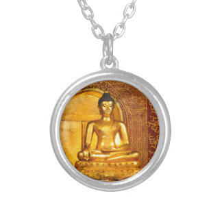 goldbudha_front.JPG Silver Plated Necklace