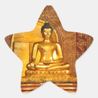 goldbudha_front.JPG Star Sticker