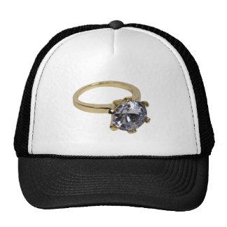 GoldDiamondRing112409 Trucker Hat