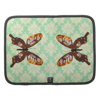 Golddust Butterfly Mint Julep Damask Rickshaw Foli Planners