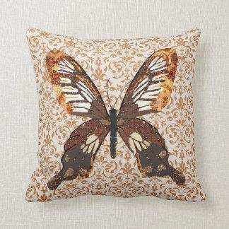 Golddust Butterfly MoJo Pillow