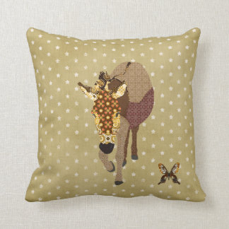 Golddust Moses & Butterfly Star Mojo Pillow Throw Cushion