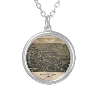 golden1882 silver plated necklace