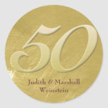 Golden (50th) Anniversary Faux Metal-Look