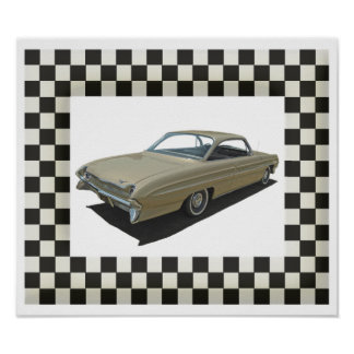 Golden 61 Oldsmobile Poster