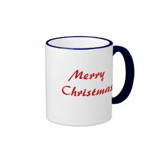 Golden Abstract Christmas Tree Mug