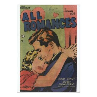 Golden Age Comic Art - All Romances Card