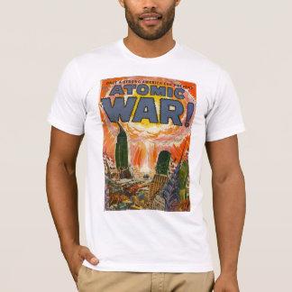 Golden Age Comic Art - Atomic War T-Shirt