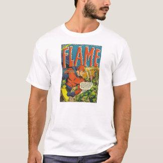 Golden Age Comic Art - The Flame T-Shirt