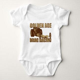golden age drag racing digger dragster baby bodysuit