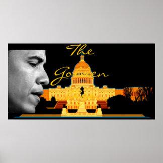 Golden Age Obama Poster
