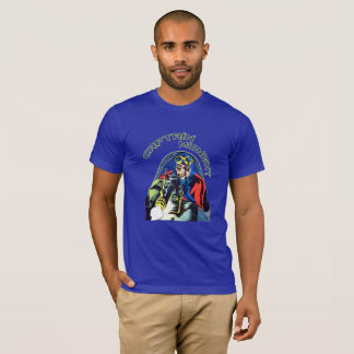 Golden Age Superhero Comic Book Cover Art T-Shirt