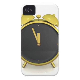 Golden alarm clock iPhone 4 Case-Mate case