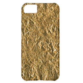 Golden Aluminium Background iPhone 5C Case