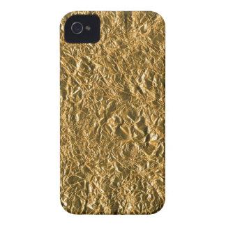 Golden Aluminium Background Case-Mate iPhone 4 Cases