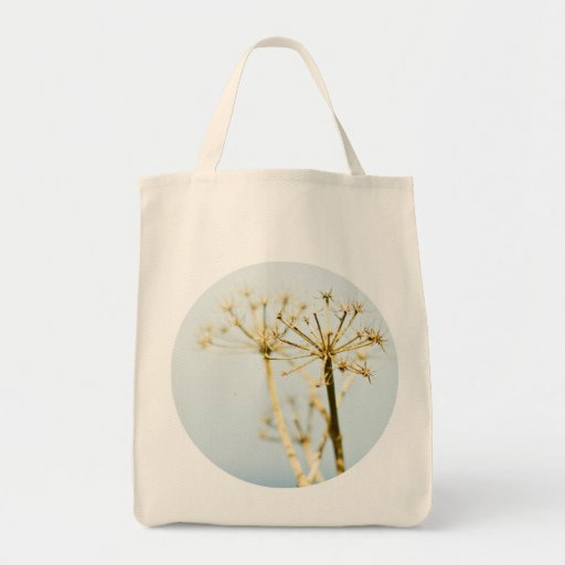 Golden and Teal Grocery Tote Bag