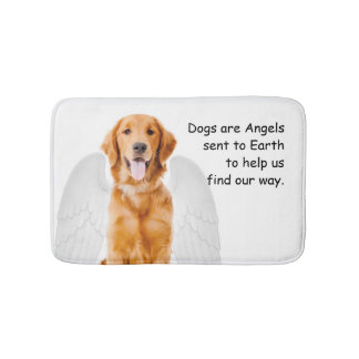Golden Angel Bath Mat