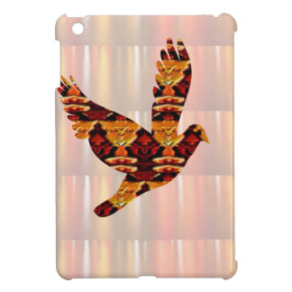 Golden ANGEL on Feathers ANGEL BIRD Goodluck gift iPad Mini Cover