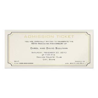 Golden Anniversary Invitations