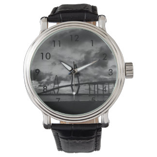 Golden Arthur Ravenel Pano Grayscale Wrist Watches