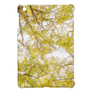 Golden Aspen Forest Canopy Cover For The iPad Mini