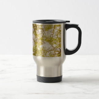 Golden Aspen Forest Canopy Travel Mug
