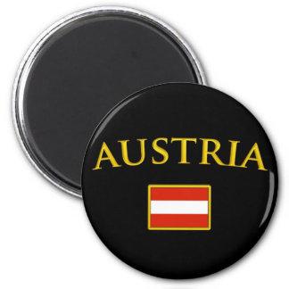 Golden Austria Magnets