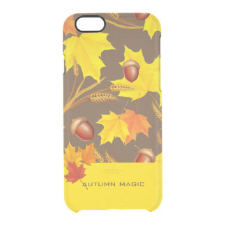 Golden Autumn Clear iPhone 6/6S Case