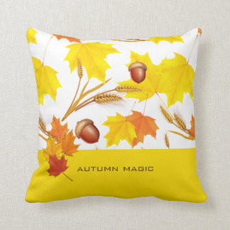 Golden Autumn Cushion