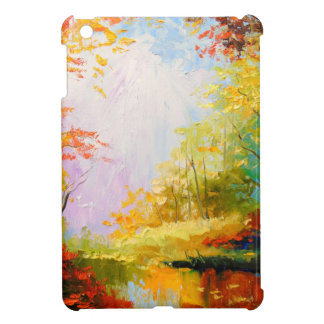 Golden autumn iPad mini cover