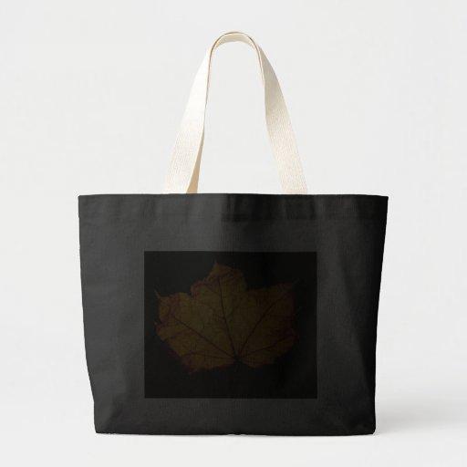 Golden Autumn Leaf Bag