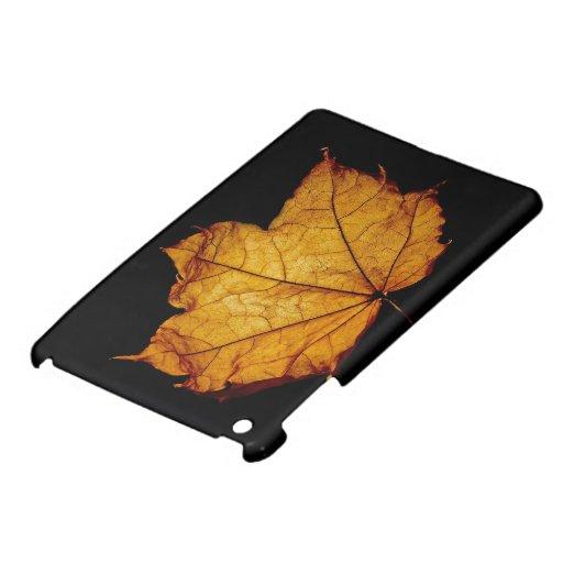Golden Autumn Leaf Cover For The iPad Mini