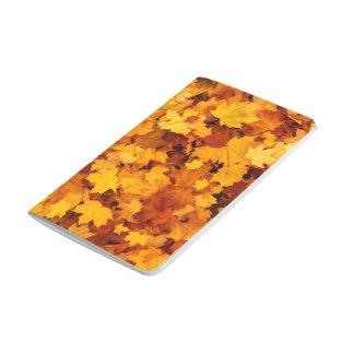Golden Autumn Leaf Journals