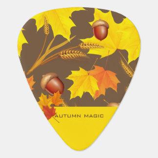 Golden Autumn Plectrum