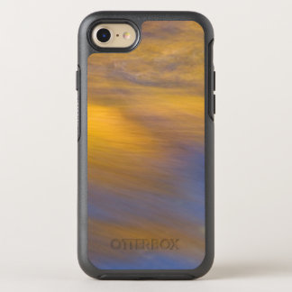 Golden Autumn Reflection on Flowing Water OtterBox Symmetry iPhone 8/7 Case