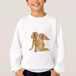 Golden Baby Angel Shiny Elegant Angelic Sweatshirt